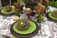 Tablescapes / So many beautiful table settings! Love making beautiful tables.