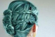 Hair - Turqouise/Green