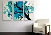Original Art Prints and Canvas / Loftipop wall art prints and stretched canvas.