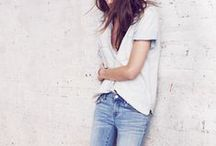 Simple & Trendy / How to combine simple garments to achieve a trendy look
