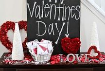 Valentine's Day / Valentine's day ideas for love and romance: decorations, food, treat, drinks,  & gifts.