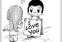 Love is...toons / Cute toons about love