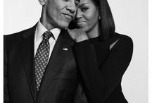 President Barack Obama & Family / One of the most beautiful families ever! Love them!