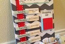 Organization ideas  / by Rebecca Wilson