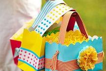 Crafty | Bags / Looking for a special gift bag? You might find it right here! / by Tammy @ Not Just Paper and Glue