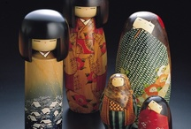 dolls...ningyo / by s kokeshi
