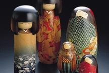 dolls...ningyo / by s kokeshi