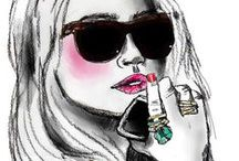 Fashion Illustrations / Inspirational fashion illustrations