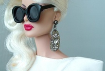 Pretty dolls / Fashionable Barbie dolls