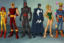 Comic Heroes / by Darrin Smith