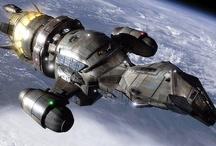 Sci-fi Ships - Geek time / by Darrin Smith
