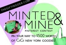 Minted&Mine / by Elena Gazzara