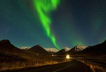 Aurora Borealis in iceland / The Northern lights are beautiful to watch in iceland.