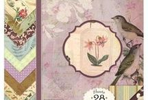 Flora & Fauna / Papers and embellishments designed by Brenda Walton for K&Company
