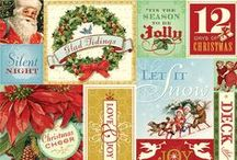 Evergreen / Papers and embellishments designed by Brenda Walton for K&Company