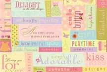 Dollhouse / Papers and embellishments designed by Brenda Walton for K&Company