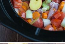 All Crockpot goodness / by Brandi LaPointe
