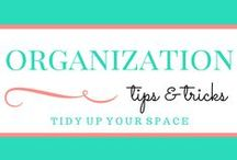 Organization / Get more organized today with these tips and hacks. Whether it's your home, office, car, or life in general, you can find ways to better organize it here.