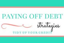 Paying off Debt / Tons of ideas, strategies, and tips on how to pay off debt. Whether you are trying to pay off student loans, credit card debt, mortgage payments, or other debt - let's start paying it down together!