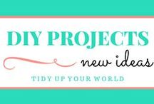 DIY Projects / Let your imagination go wild! Check out all these do it yourself projects that you can tackle at home.