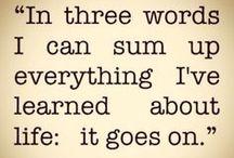 words of wisdom / by Leslie Speer