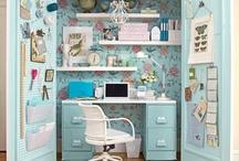 House - Craft closet ideas / by Lara Wright