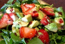 "Salad & Salad Dressing Recipes / by Adelle ""Isay"" Q-Lauifi"