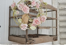 For the Birds...decorating with Bird Houses, Nests, Bird Cages, and just Birds / For the love of birds and....their houses, their nests, their cages, and all the different kinds of birds / by Lana Artz- Prine