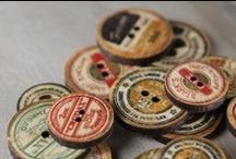 ❤ Buttons / Buttons inspire creativity.....