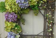 wreaths are not just round / by Lana Artz- Prine