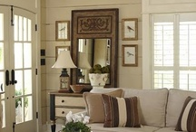 Decorating ideas for family room living / decorating tips and suggestions for your family/ living room / by Lana Artz- Prine