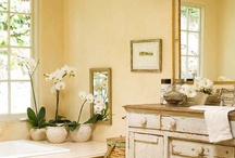 Decorating ideas for your home spa or bathroom / Decorating ideas and suggestions for your home spa or bathroom / by Lana Artz- Prine
