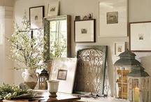 "Decorating to create ""Wow"" Vignette / Arranging various decorating items to create a ""Wow"" Vignette / by Lana Artz- Prine"