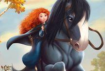 Pixar's Brave / by Janis Sweat