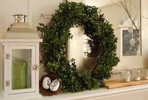 ❤ Wreaths / Wreaths of all descriptions......