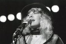 Gold Dust Woman / Stevie Nick's - Fleetwood Mac  I fell in love with Stevie Nicks in high school and couldn't get enough. Saw a few of their concerts and would still love to see more. Can't get enough of her.