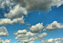 Clouds in the sky... / by Robin Patterson