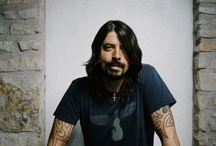 Music: Dave Grohl / A true music legend, drummer, guitarist, vocalist, producer, coordinator and activist, he has shown the world he is a genuine talent. Playing drums for Nirvana, he moved on to found the Foo Fighters, as singer/songwriter, playing lead and bass guitar, and drums on the bands first album; producing the album before the band was formed, Dave painted an outline of what he and his band, and various ventures would fill in. / by Louise Edwards