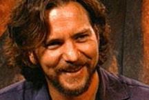Eddie Vedder - Pearl Jam / One of my favorite bands of all time Pearl Jam.