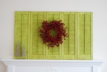 Decorating with Shutters / decorating tips and suggestions to use shutters in your home decor / by Lana Artz- Prine