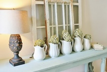 Decorating ideas for old windows / Using old windows to decorate your home or create new uses for windows / by Lana Artz- Prine