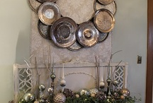 Decorating with Tarnished Silver / Using old silver in ways to add a new look to your home / by Lana Artz- Prine