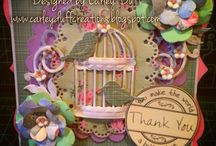 Cards for creata , create and craft tv samples