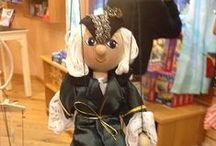 The Country Store's Marionettes