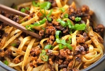 """Asian Flare (Noodles/Pasta & Rice) / by Adelle """"Isay"""" Q-Lauifi"""