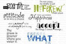 Scrapbook Quotes & Titles
