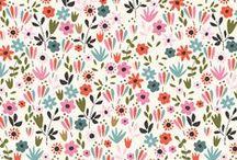 Design | Patterns | Floral