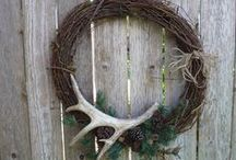 Antlers for a Deering impact....using deer antlers in home decorating / Deer antlers used to decorate your home / by Lana Artz- Prine