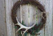 Antlers for a Deering impact....using deer antlers in home decorating / Deer antlers used to decorate your home / by Lana Artz- Prine