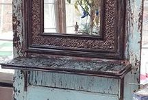 Decorating with old Doors that don't shut out the world / Decorating suggestions to use old doors in your home / by Lana Artz- Prine